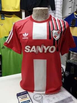 Camiseta retro river sanyo S M L river plate