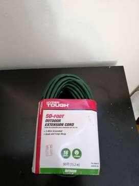Cable de extensión para exteriores