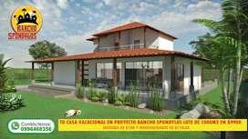 Proyecto Campestre, Con Solo 100 Dolares Como Cuota Inicial a 71 Meses Plazo SD2