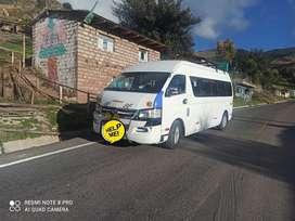 Joy long minibús 20 asientos bien conservado documentos al día.. Con jaula por dentro listo para trabajar