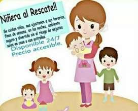 Cuidado y atención de Niños