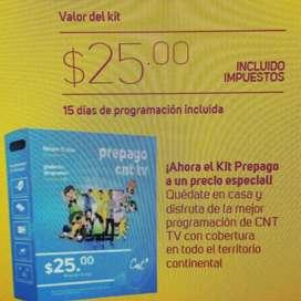 TV prepago CNT