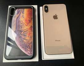 iPhone xs max 256GB color dorado