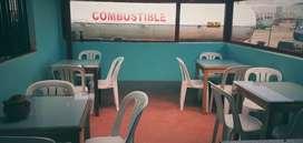 Se alquila local para restaurante en Tongo bamba
