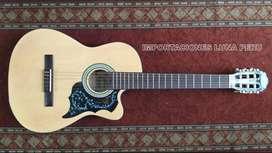 guitarra acustica clasica color madera natural FREEMAN ORIGINAL