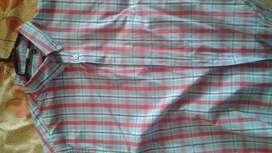 Camisa Para Caballeros,Única camisa,Casi nueva,Talla Xl,Manga Corta,Marca Manhattan.