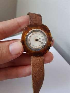 Yh Antiguo Reloj Timex De Carey Años 70 Original Cambio Rema
