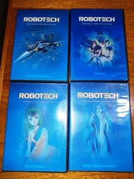 ROBOTECH DVDs REMASTERIZADOS
