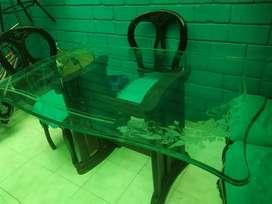 Mesa de comedor y sala