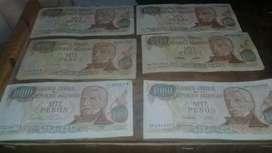 Billetes antuguos