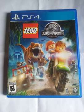 Lego Jurassic World PS4 impecable