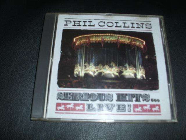 """PHILL COLLINS CD """" SERIOUS HITS LIVE, made in usa"""