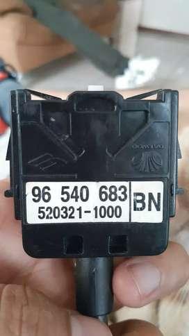 Conmutador de luces del Chevrolet Aveo