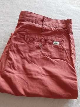 Pantalon chino Lacoste 34 nuevo