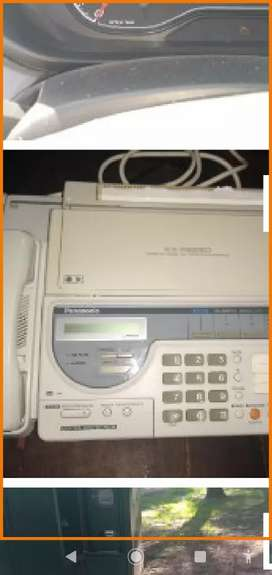 Vendo o permuto teléfono fax y contestadora panasonic