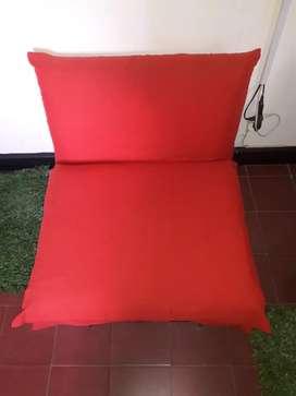 sofá cama individual como nuevo