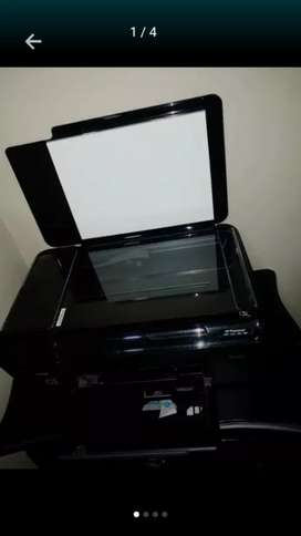 Impresora y fotocopiadora, Scanner, Láser. En excelente estado. SIN CARTUCHOS