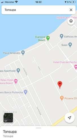 VENDO Terreno, Emeraldas, Tonsupa, Playa
