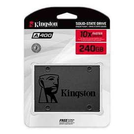 DISCO DURO SOLIDO SSD KINGSTON 240GB A400 SATA