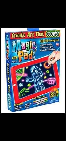 Magic Pad venta por MAYOR  y  MENOR, Pizarra Mágica AZUL Y ROJO