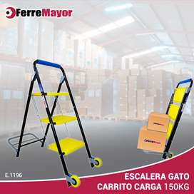 ESCALERA CARRITO- CARGA