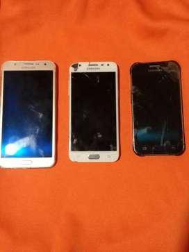 Teléfonos por reparar o para repuestos