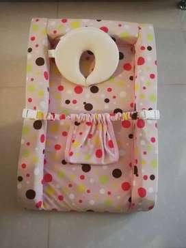 Colchón antireflujo y almohada moldeadora de la cabeza del bebe