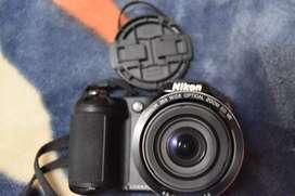 Cámara nikon coolpix L320