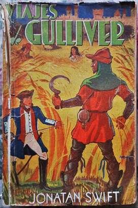 Los Viajes De Gulliver - Jonathan Swift - Editorial Tor 1946