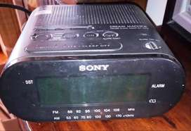RADIO RELOJ DIGITAL SONY