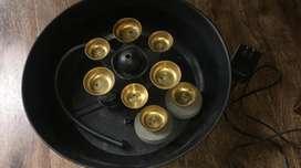 Fuente de agua y campanas Nueva
