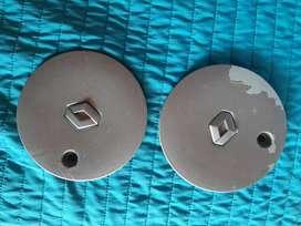 2 Tapas originales rines twingo