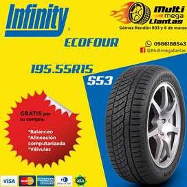 Llantas 195.55r15 infinity ecofour