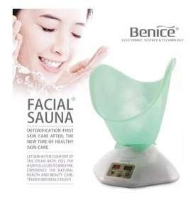 Sauna Vaporizador Facial Nasal Benice Limpia Poros Rejuvenec