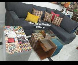 Se venden, se fabrican a su gusto y se refaccionan sus muebles. Elaboramos salas, sofas, mesedoras comedores.