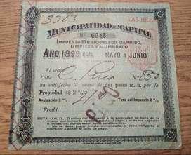 Impuesto ABL 1899 de CABA