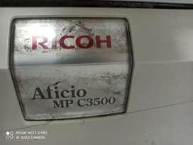 Impresora Ricoh 3500 color para repuestos