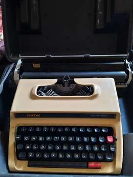 Máquina de escribir Brother perfecta!