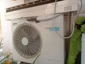 Aire acondicionado invertel de 24 mil BTU con 3 metro de tubería