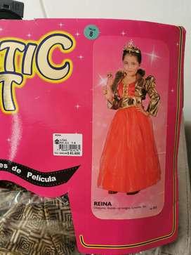 Disfraz de Reina o Princesa
