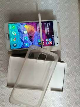 Vendo Samsung note 4 con caja y factura
