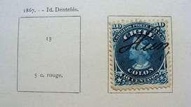 Sellos postales de Chile 1867 – 1900