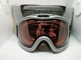 Antiparras De Ski Alpina Quatroflex Skybird