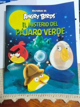 LIBRO DE  ANGRY BIRDS (EL MISTERIO DEL PÁJARO VERDE)