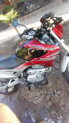 Vendo nx4 2011 falcon excelente estado con lonjack  luces LED y mata perro