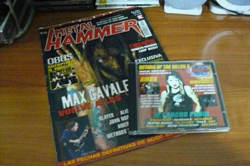 Vendo Revista Metal Hammer con Cd 0