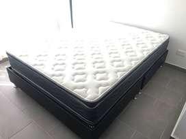 Somier / Base cama + Colchón doble