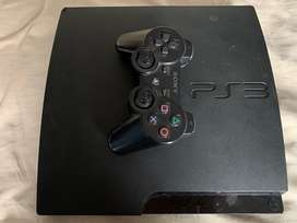 Ps3 con control y juegos. Negociable
