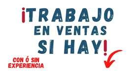ATENCION!!!  COMERCIALIZADORA SOLICITA PERSONAL PARA VENTAS