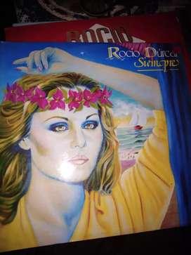 5 Discos en acetato Rocío Durcal x $20.000